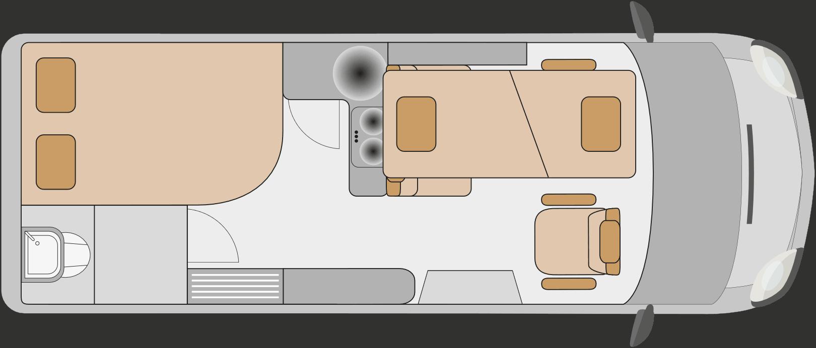 Affinity Floor Plan Night