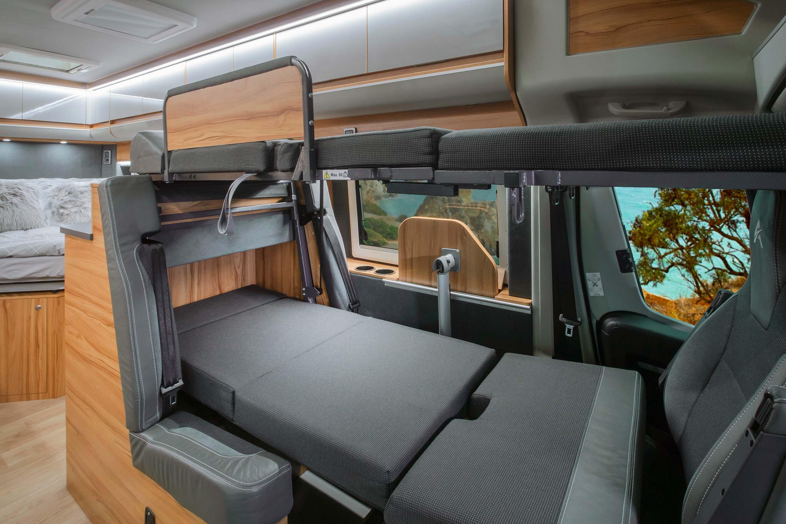 Affinity Camper Van - Interior